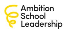 Ambition School Leadership - Job Vacancylogo