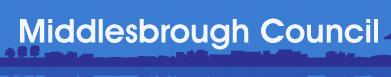 Middlesborough County Councillogo