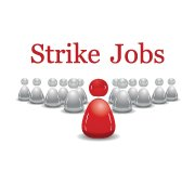 Strike Jobs Branded Extralogo