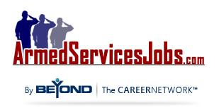ArmedServicesJobs by Beyond.com logo