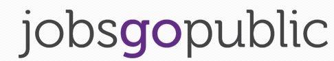 Jobs Go Public logo