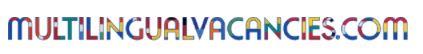 Multilingual vacancies logo